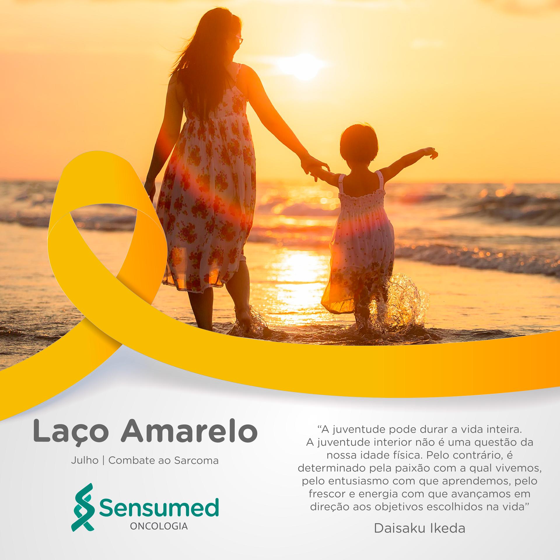 Laço Amarelo de Conscientização do Sarcoma