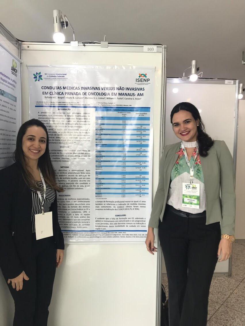 Médicas apresentam pesquisa em Congresso Mundial de Cuidados Paliativos na Alemanha