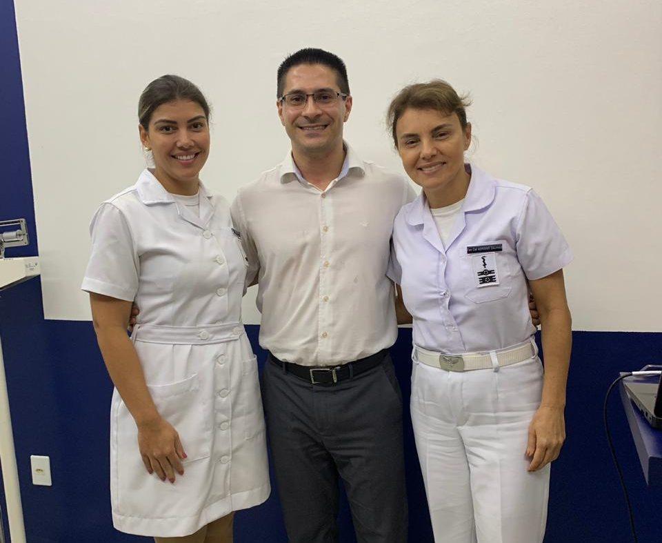 Hospital da Aeronáutica de Manaus discute cuidados oncológicos